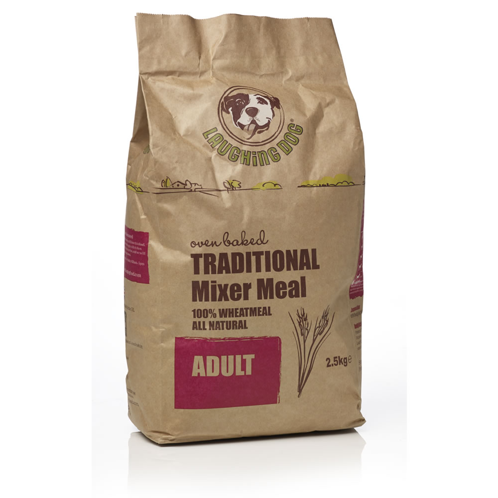Laughing Dog Terrier / Traditional Mixer Meal Dog Food