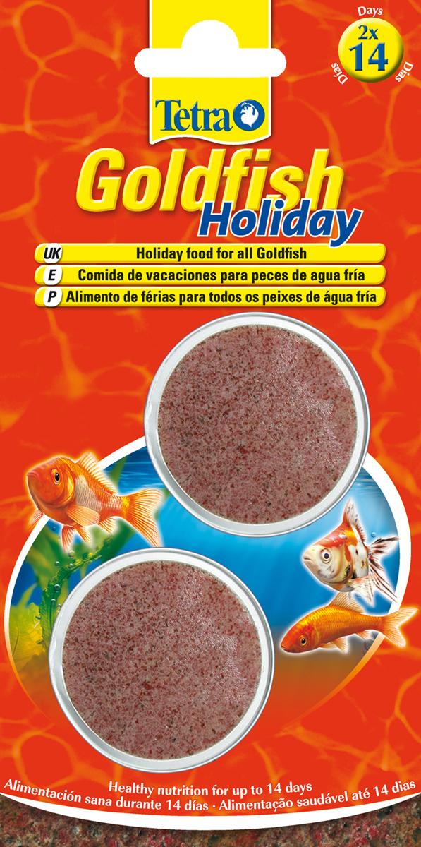 Tetra Goldfish Holiday Disc
