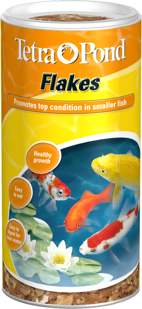 Tetra pond flakes for Fish food flakes