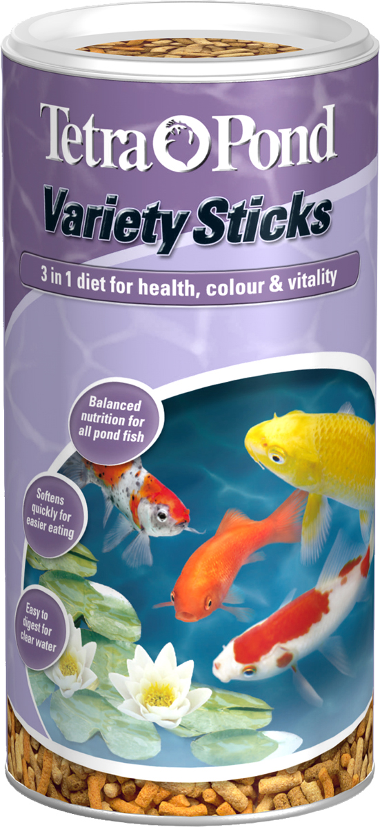 Tetra pond variety sticks fish food for Pond fish food