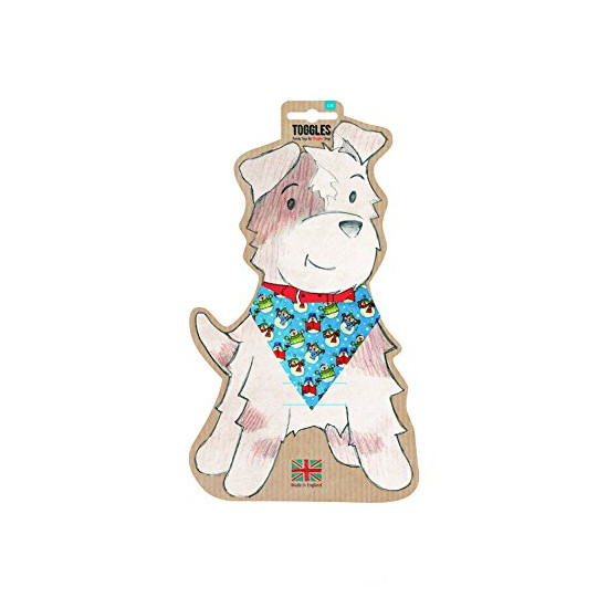 Toggles Frosty The Snowman Bandana for Dogs