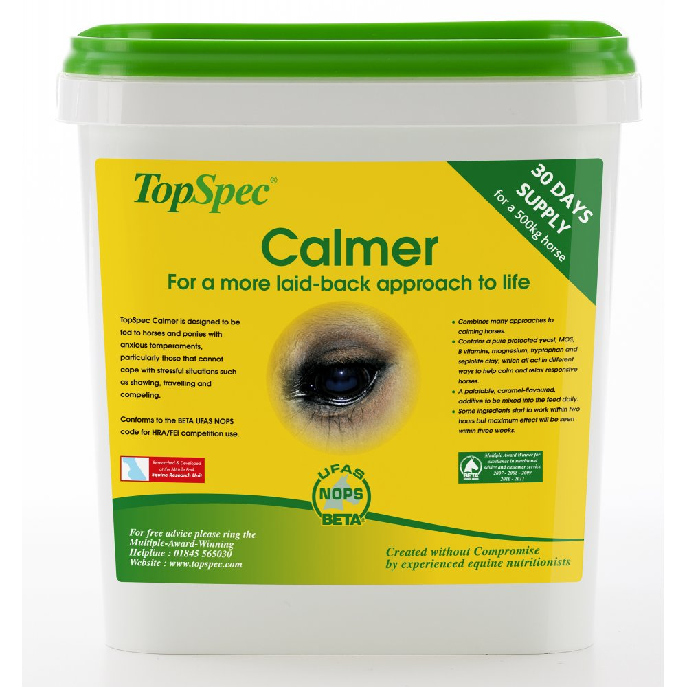 Top Spec Calmers for Horses