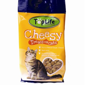 TopLife Cheesy Treats for Cats