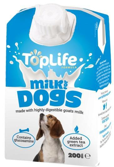 TopLife Goats' Milk for Dogs
