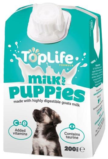 TopLife Goats' Milk for Puppies
