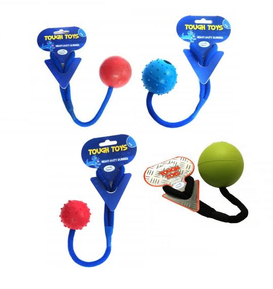 Happy Pet Tough Toys Rope Ball Dog Toy