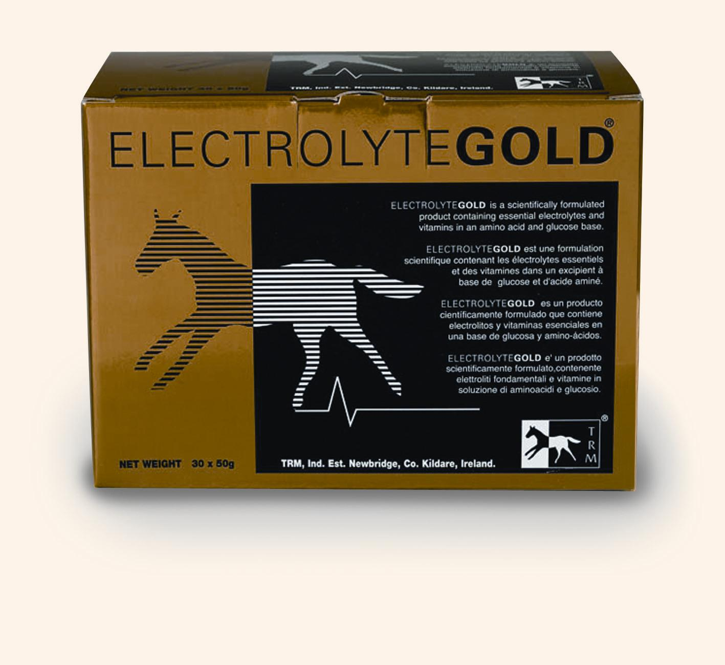 TRM Electrolyte Gold for Horses