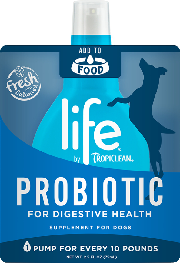 TropiClean Life Probiotic Supplement for Dogs