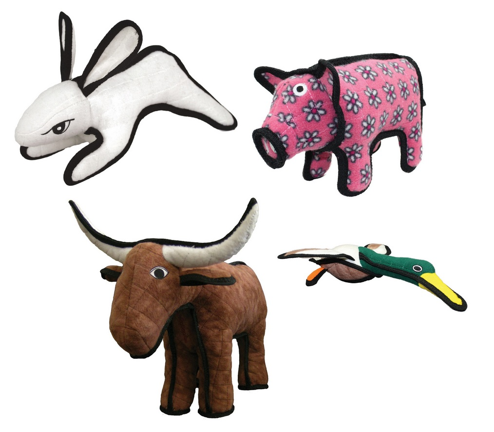 tuffy junior barn yard dog toys