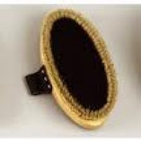 Vale Brothers Equerry Wooden Leather Handle Body Brush