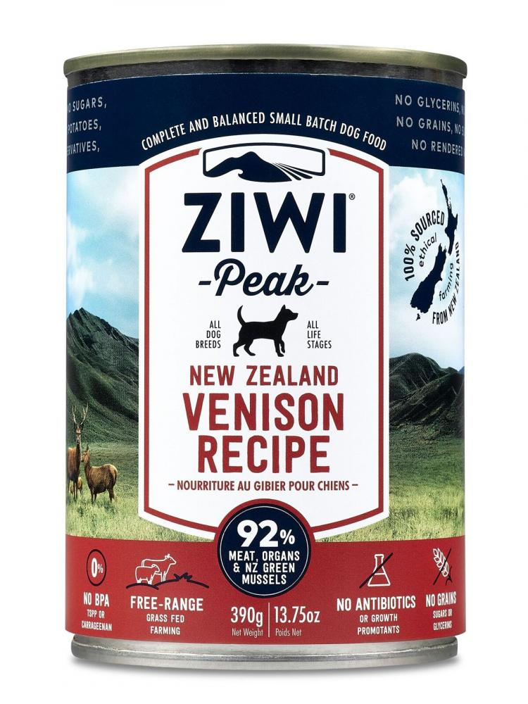 ZiwiPeak Daily Dog Moist Cuisine Venison Dog Food
