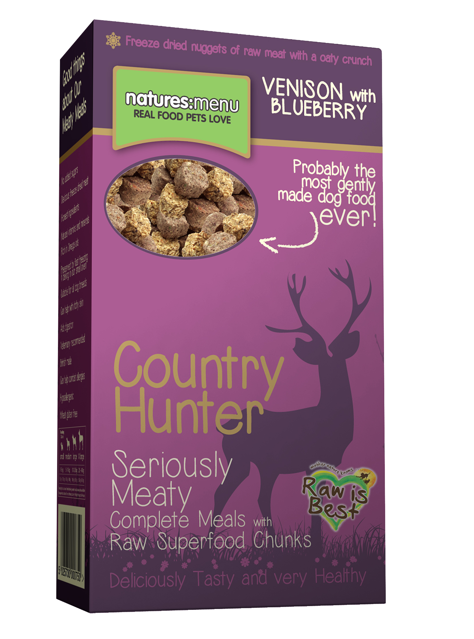 Natures Menu Country Hunter Venison & Blueberries Dog Food