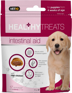 Vetiq Intestinal Aid Treats For Puppies