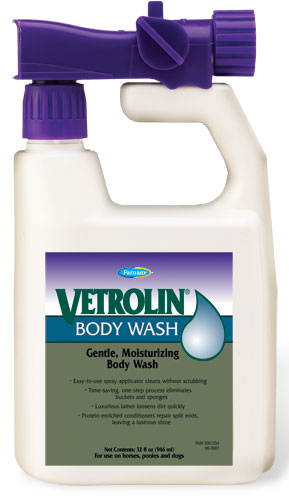 Vetrolin Body Wash for Horses