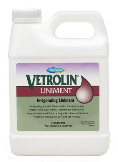 Vetrolin Liniment for Horses