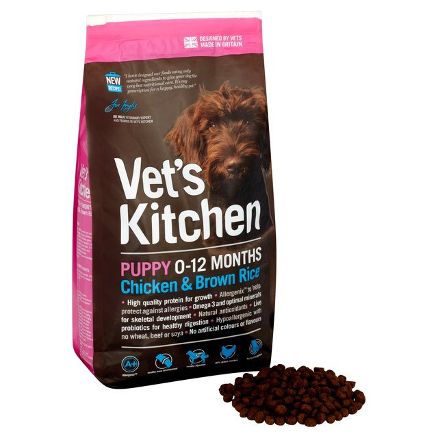 Vet's Kitchen Puppy Chicken & Brown Rice Dog Food