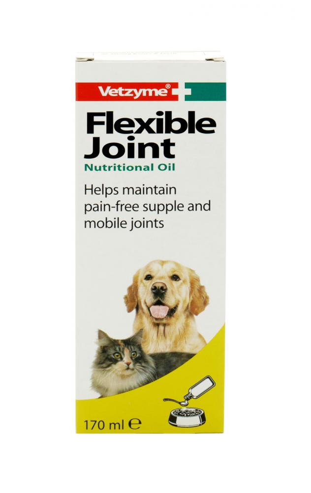 Vetzyme Flexible Joint Nutritional Oil for Dogs & Cats
