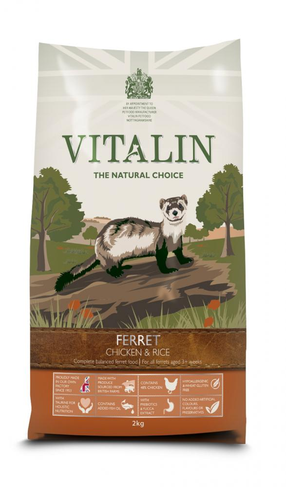 Vitalin Natural Ferret