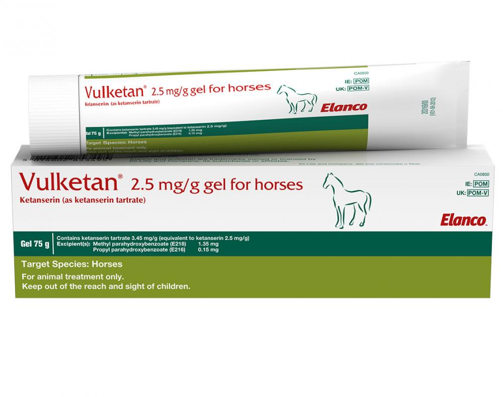 Vulketan 2.5mg/g Gel for Horses