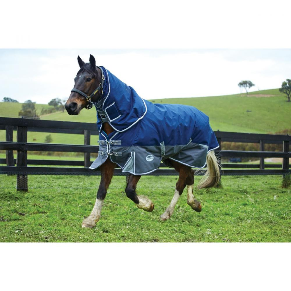 WeatherBeeta Freestyle 1200D Detach-A-Neck Medium Turnout Rug