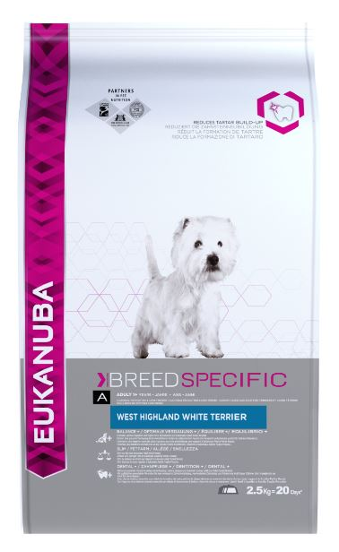 Eukanuba Adult West Highland White Terrier Chicken Dog Food