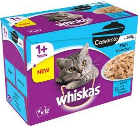 Whiskas 1+ Cat Pouch Casserole In Jelly