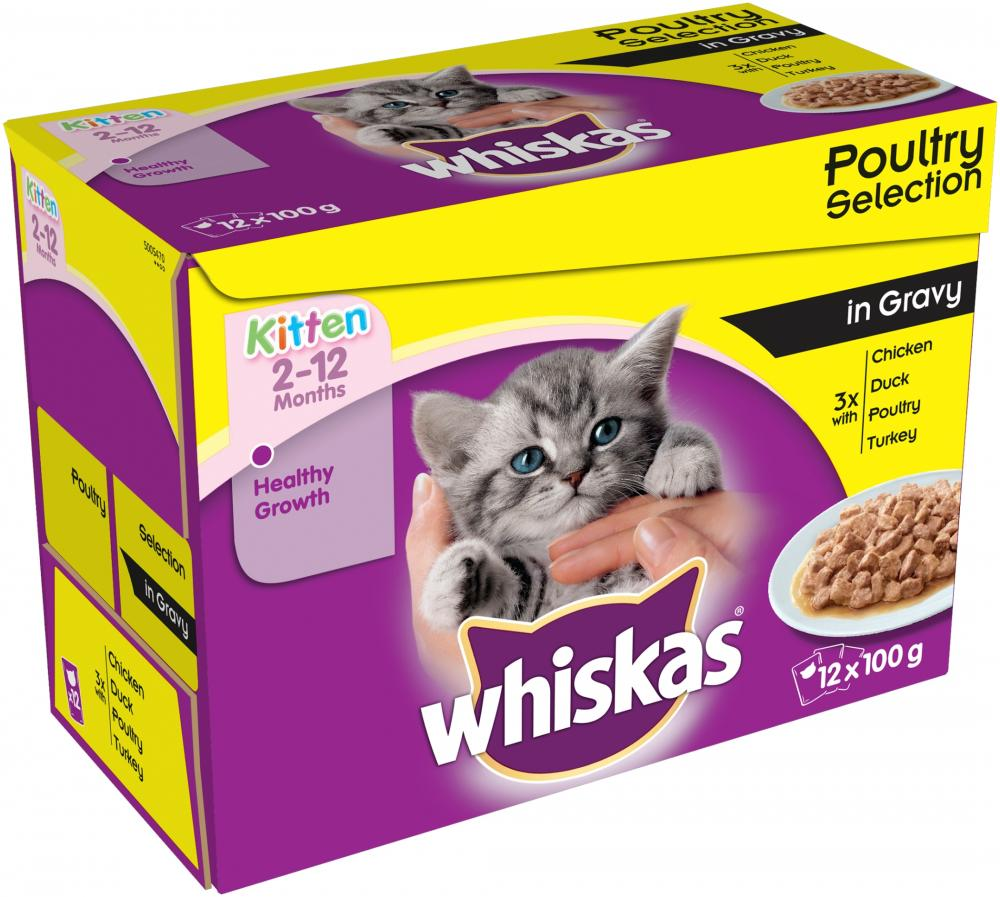 Whiskas Kitten Poultry Selection