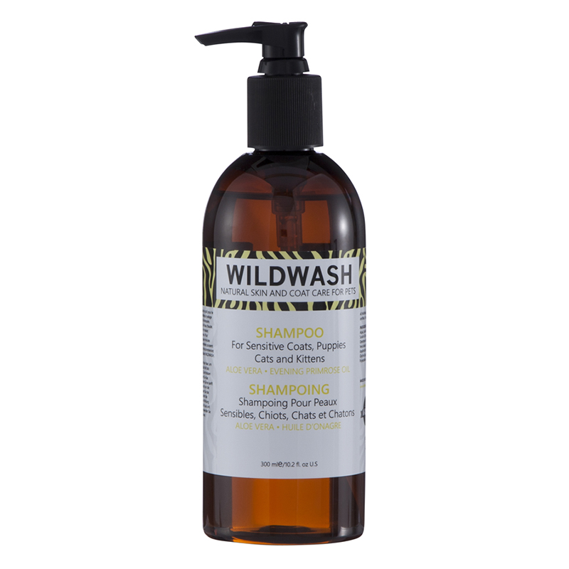 Wild Wash Sensitive Shampoo (for Puppies, Kittens & Cats)