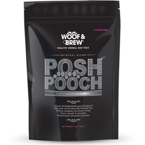 Woof & Brew Posh Pooch Herbal Tea for Dogs