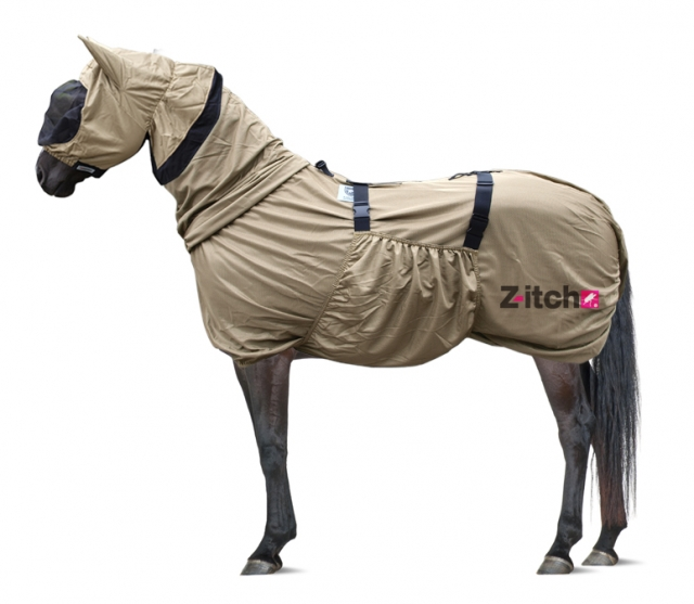 Z Itch Sweet Itch Rug With Hood For 🐴 Horses