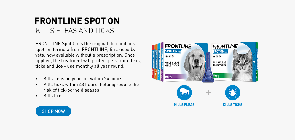 FRONTLINE Spot On flea and tick treatment