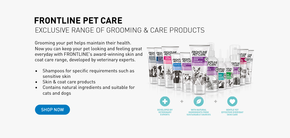 PET CARE skin and coat care products