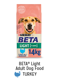 Shop for BETA Light Adult Dog Food Turkey