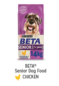 Shop for BETA Senior Dog Food Chicken
