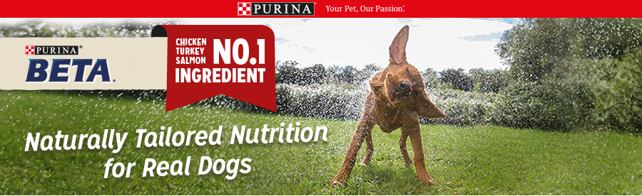 Purina Beta Naturally Tailored Nutrition For Real Dogs