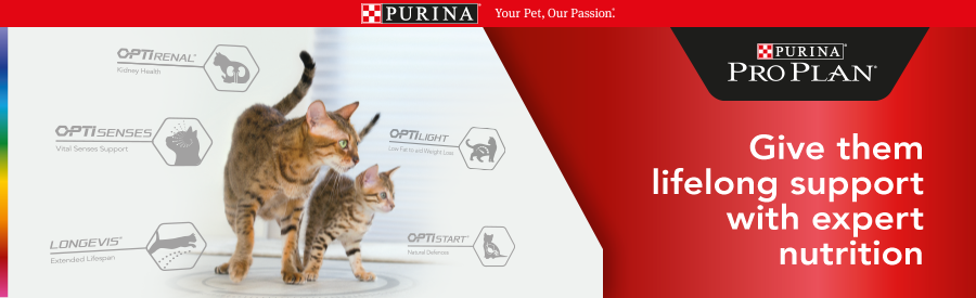 Purina Pro Plan for Cats. Give them lifelong support with expert nutrition