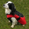 Options Red Water Resist Reflective Dog Coat