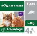 Advantage 80 Spot On Flea Control Large Cats and Rabbits