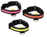 Animate Walking Mate Soft Nylon LED Dog Collar