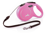 Flexi New Classic Cord Dog Lead 8m Pink