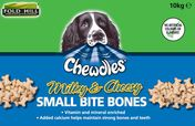 Fold Hill Chewdles Milky & Cheesy Small Bite Bones Dog Treats