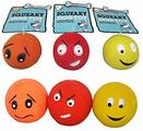 Good Boy Latex Face Balls Dog Toy