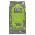 Green Dog Food Turkey with Carrot & Turmeric