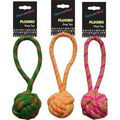Hem & Boo Fluoro Rope Toy with Handle for Dogs