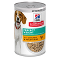 Hills Science Plan Perfect Weight Wet Dog Food