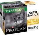 PRO PLAN Nutrisavour Sterilised Adult Wet Cat Food Chicken