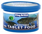 King British Plecostomus Tablet Fish Food