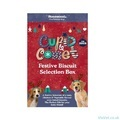 Rosewood Cupid & Comet Festive Biscuit Selection Box for Dogs