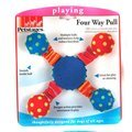 Rosewood Four Way Pull Dog Toy
