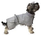 Sotnos Urban Grey Tweed Dog Coat
